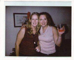 Kim and Me...many many MANY moons ago.