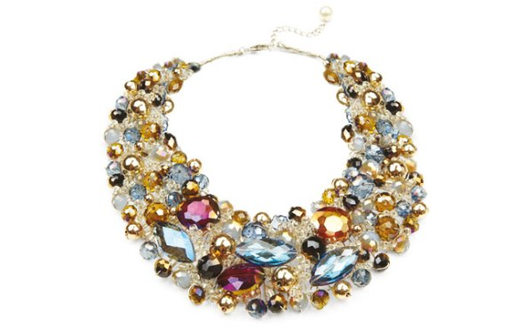 Statement necklace from Aldo, as seen in Lou Lou