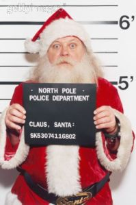 Tsk tsk...shame on you, Santa!