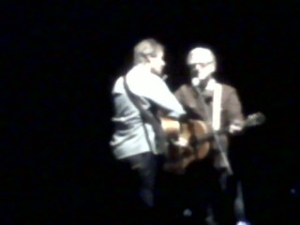 Jim Cuddy and Greg Keelor - second encore