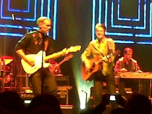 Honorable Blue Rodeo guitarist Colin Cripps and the incredible Jim Cuddy.