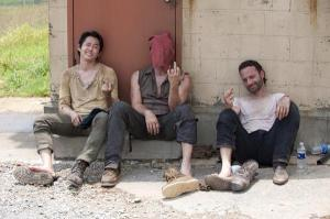 Steven Yeun, Norman Reedus, Andrew Lincoln