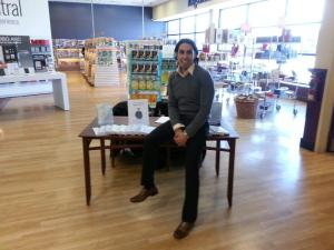 Bruno LoGreco: Master Life Coach and cool dude at his recent book signing