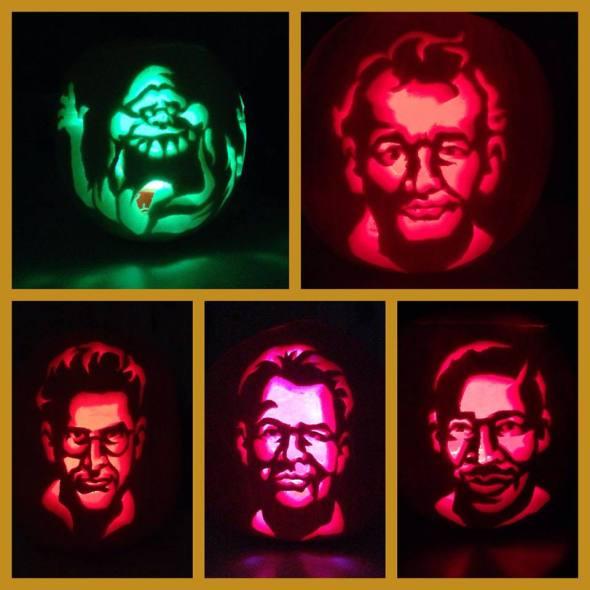Ghostbusters Carvings