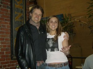 Blue Rodeo's Jim Cuddy and a crazy fan