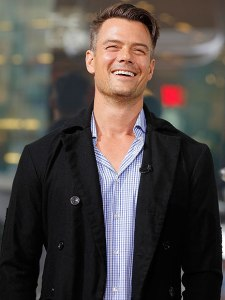 Josh Duhamel laughing