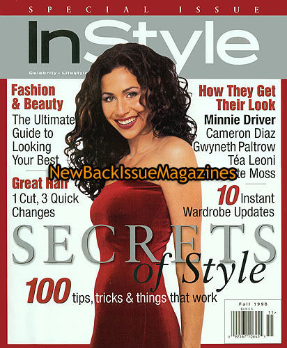 Minnie Driver Instyle