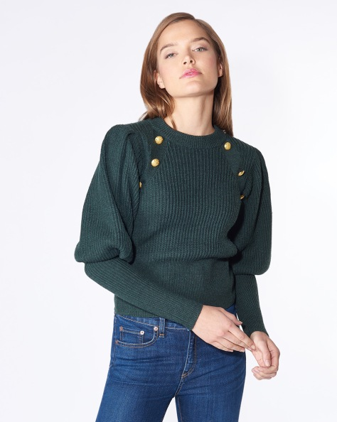 17090879116_Forest-Green_PRODUCT_01--IMG_1200--JudeLegOfMuttonSleeveButtonSweater--414099272